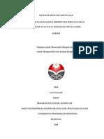 SISTEM PENDUKUNG KEPUTUSAN PEMILIHAN MAHASISWA BERPRESTASI MENGGUNAKAN METODE ANALYTICAL HIERARCHY PROCESS (AHP)