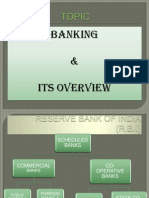 Banking and Its Overview Ppt