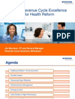 Prepare For Health Reform With Revenue Cycle Management Insight From McKesson