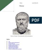 Riassunto Platone