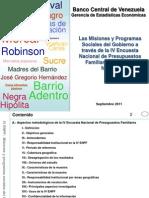 BCV Encuesta Misiones Bolivar Ian As