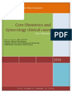 Obstetric Cases for MS-III