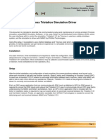TechNote Triconex Tri Station Simulation Driver