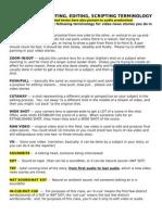 Video News Terminology