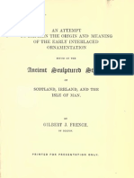 Gilbert French - Ancient Sculptured Stones of Scotland, Ireland, And the Isle of Man (1858) (28 Pgs)