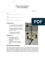 Forces and Pulleys