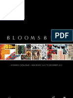 BLOOMSBURY - Academic Catalogue July-December 2012