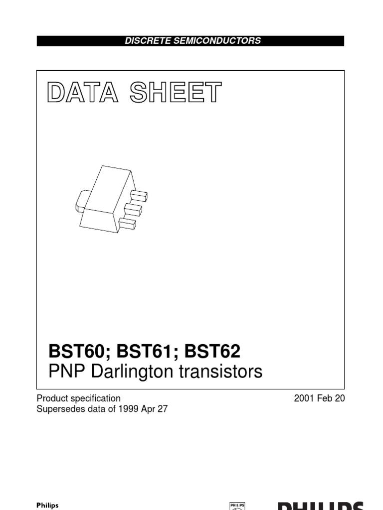 BST60_61_62   Bipolar Junction Transistor   Transistor