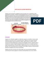 gingivita ulcero necrotica