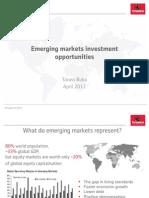 Emerging Markets Investment Opportunities - April 2012 Finasta