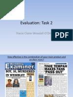 Evaluation Task 2