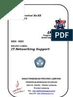 Kisi-Kisi IT Networking Support LKS SMK 2012