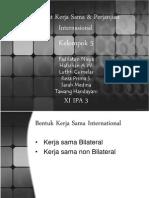 Manfaat Kerjasama & Perjanjian Internasional