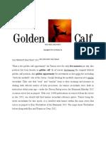 Taurus Ascending Golden Calf Chance ILLVMINATI Mayday