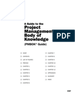 A Guide to the Project Management Body of Knowledge, PMBOK Guide, 1st