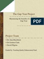 Ppt Gap Year