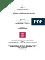 Logical Framework Projects