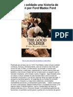 el buen soldado una historia de pasión por ford madox ford - 5 estrellas reseña del libro