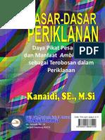 """Buku """"Dasar-Dasar Periklanan""""_Kanaidi (ISBN"""