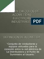 DISEÑO Y CALCULO DE ACOMETIDAS