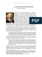 A Atualidade Do Marxismo Para o Debate Ambiental
