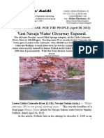 Vast Navajo Water Giveaway Exposed