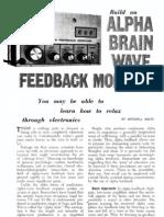 Build a Brain Wave Feedback Monitor
