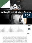 Abbey Road Modern Drums Manual English