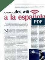 """Reportaje Revista Emprededores """"Ciudades WiFi a la española"""""""