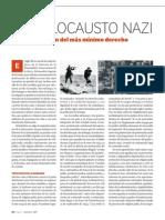 El holocausto nazi y la proscripción del más minimo derecho