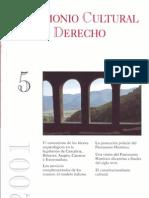 2001. Patrimonio cultural y fuetnes de información. Bibliografía jurídica