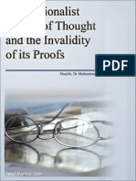 The Rationalist School of Thought and the Invalidity of its Proofs - Shaykh, Dr Muhammad bin Moosaa Aal Nasr