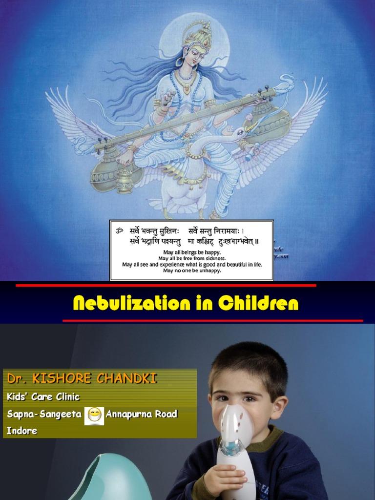 Nebulization in Children   Pharmacy   Pulmonology