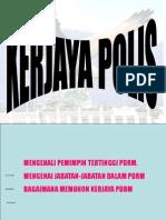 Kerjaya Polis