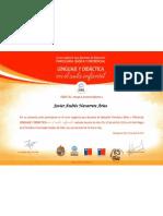 Curso magistral para docentes de Educación Parvularia, Básica y Diferencial, Lenguaje y Didáctica en el aula infantil - Capacitar EDIBA, 2012