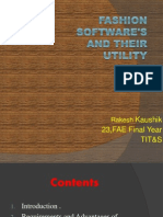 Fashion Software's and Their Utility