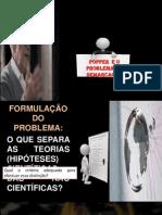 POPPER E O PROBLEMA DA DEMARCAÇÂO
