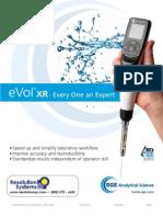 SGE eVol Digitally Controlled Analytical Syringe - Resolution Systems