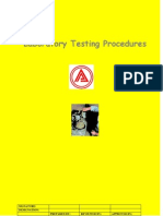 Laboratory Work Procedure