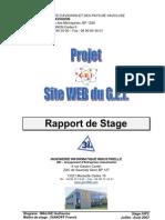 Rapport 20de 20Stage 2003