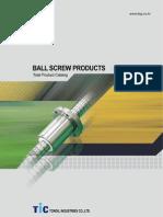 TONGIL Ballscrew Catalog (English)
