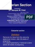 Cesarean Section Patel