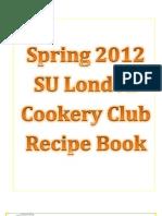 Cookery Club Cookbook 2012