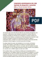 Marysol González Sterling - La evolución bioquímica-biopsíquica del ser humano puede depender de despertar o aumentar DMT en el organismo