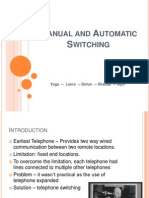 Manual and Automatic Switching