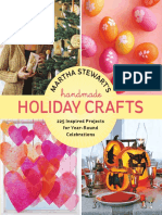 Button-Embellished Cards From Martha Stewart's Handmade Holiday Crafts