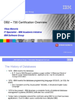 0) DB2-730 Test Overview