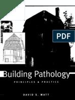 Building Pathology..Principles and Practice-David Watt