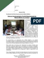 Boletín 032_Entra en funcionamiento Comité Departamental de Misión Médica en el Cauca