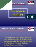 Rba Training Package - Bitumen Hse June 2011